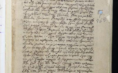 Instytut podpisał umowę zPaństwowym Archiwum Historycznym wMińsku owspółpracy idigitalizacji poloników